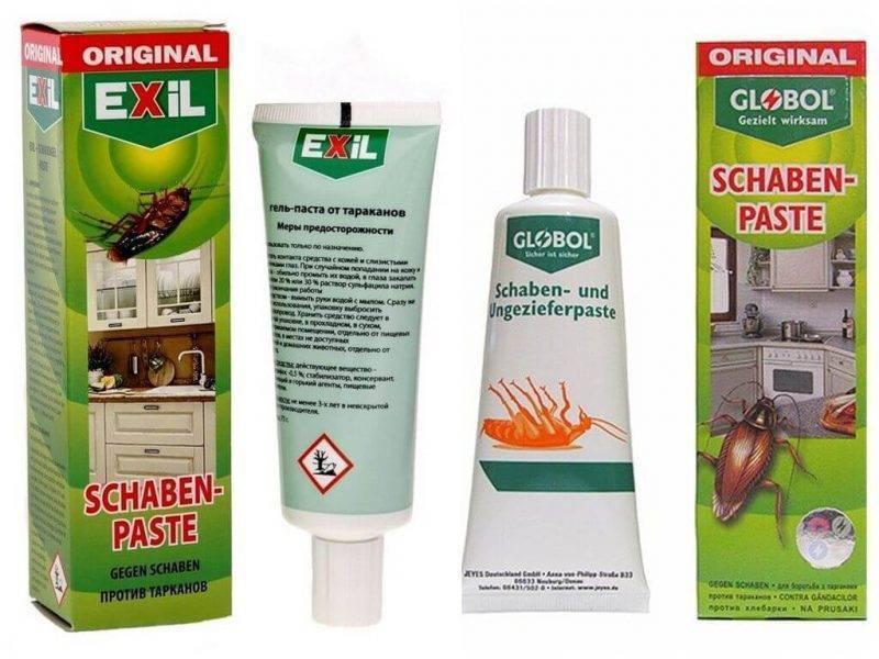 Выбираем высокоэффективный гель для избавления от тараканов