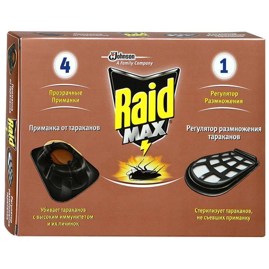 Средства рейд: помощь в борьбе с тараканами