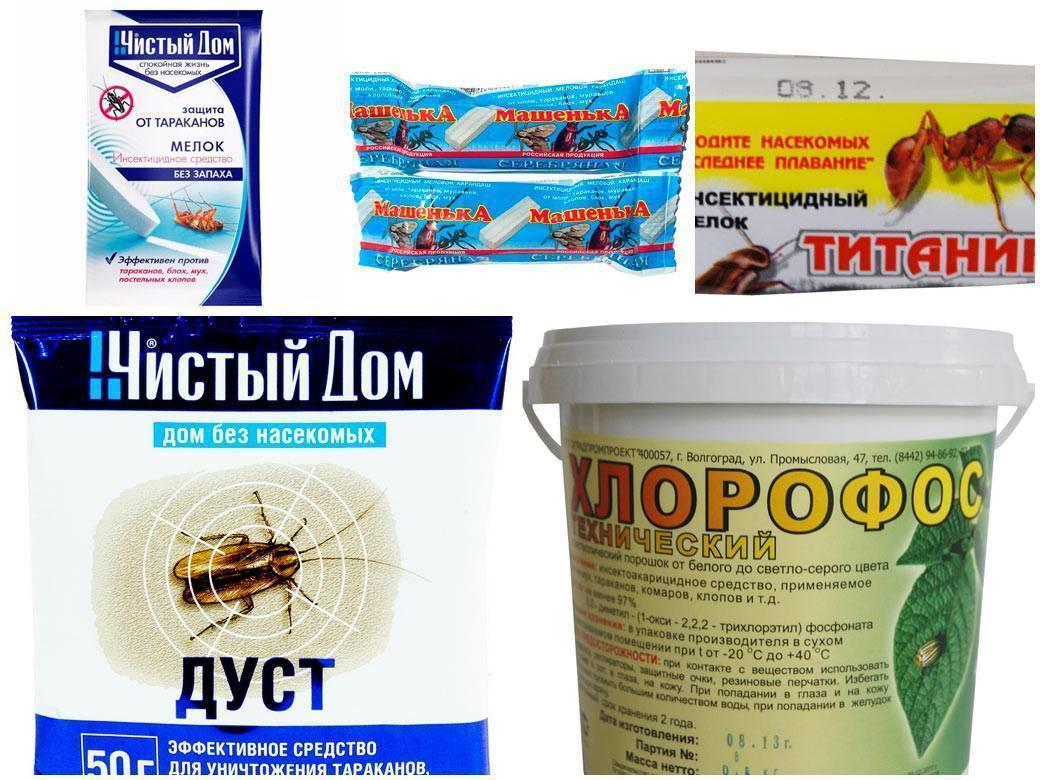 Использование хлорофоса от клопов