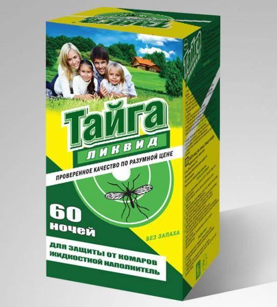 Тайга от комаров