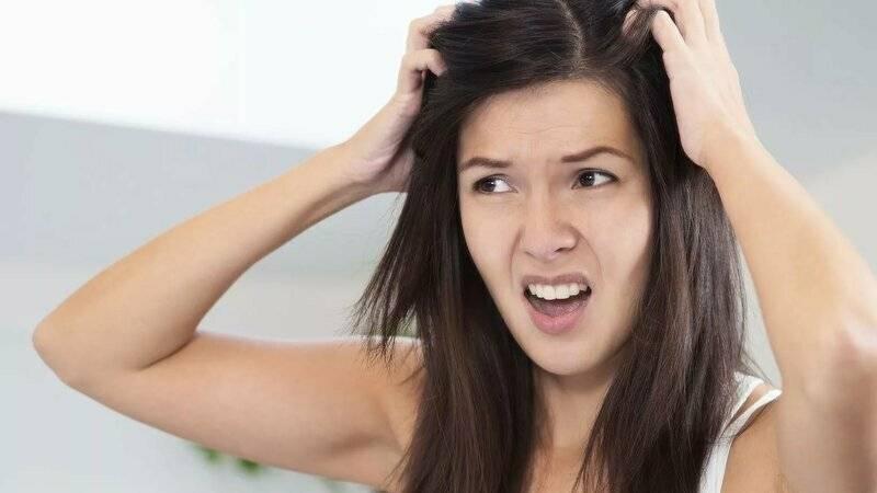 Почему чешется голова она чистая без вшей