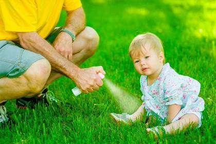 Эффективные средства от комаров для детей до года