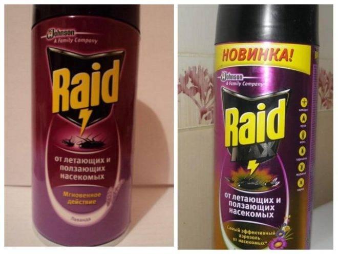 Инструкция по использованию рейда (raid) против тараканов