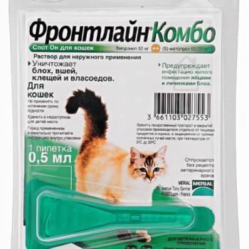 О препарате фронтлайн для кошек