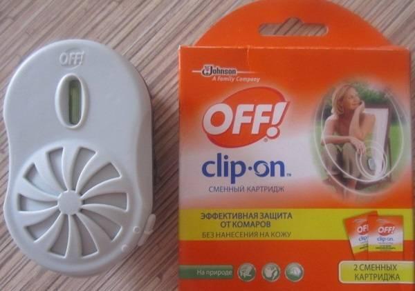 Средство off clip-on от комаров – отзывы и обзор