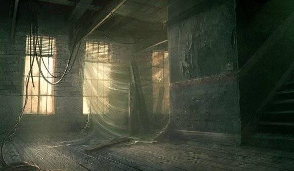 Комната в паутине