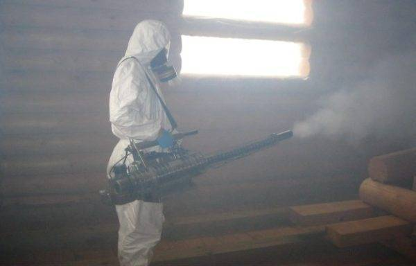 Как действует холодный туман: применение от клопов, отзывы, препараты