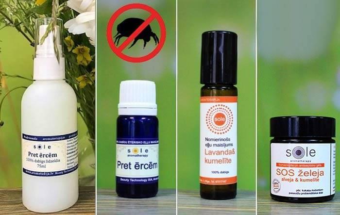 Средства для избавления и защиты от комаров на дачном участке