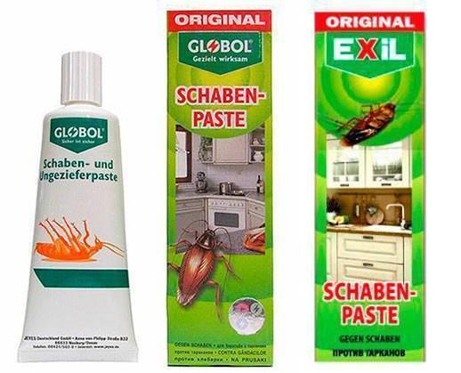 Немецкий гель от тараканов globol (глобал) — как использовать средство?