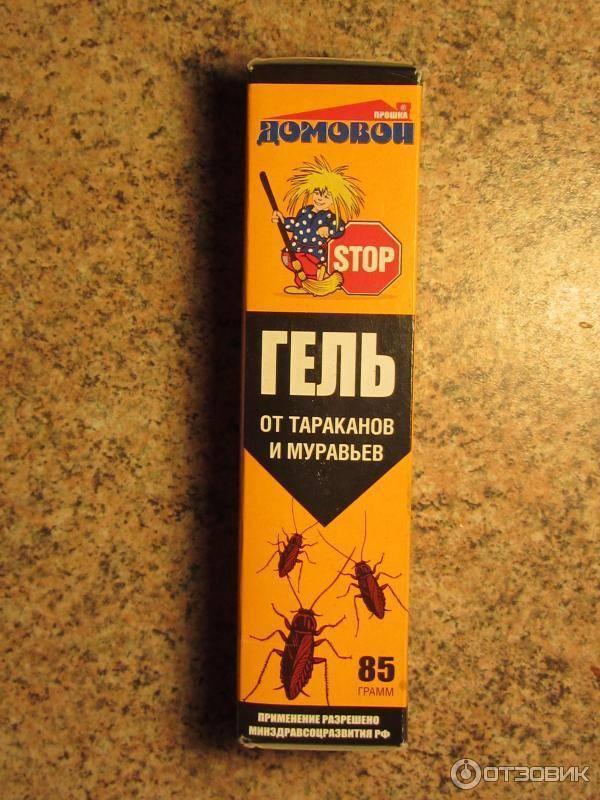 Гель «домовой» – современное оружие против тараканов