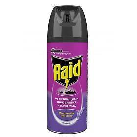 Универсальное средство raid от клопов