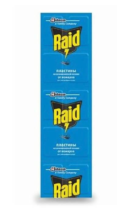 Средства raid от комаров