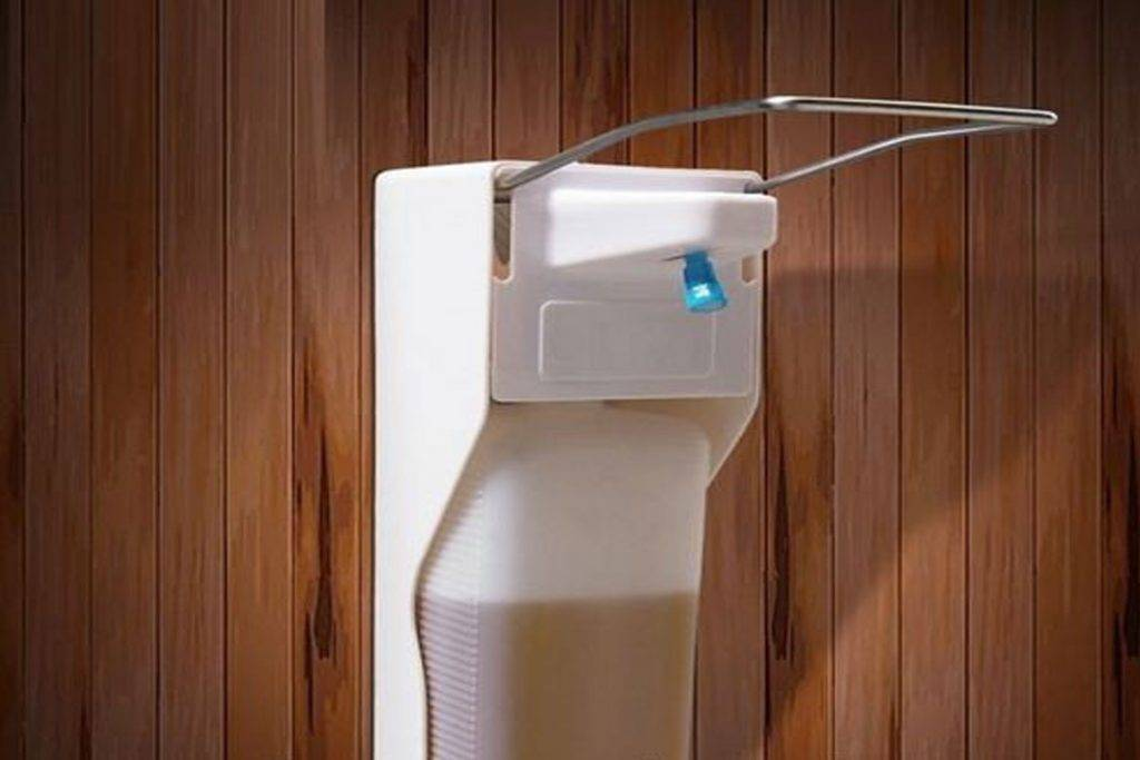 5 видов антисептиков с дозатором для рук: бытовые, медицинские, локтевые, бесконтактные, с помпой