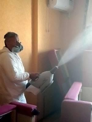 Обработка горячим туманом от клопов
