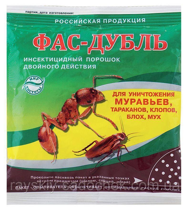 Применение средства от муравьев фас дубль
