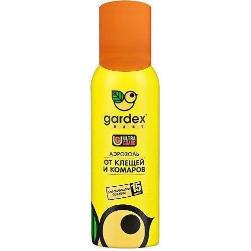 Gardex от комаров — описание препаратов, состав, эффективность
