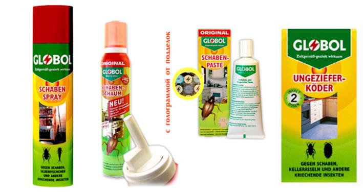 Как применять средство globol от тараканов