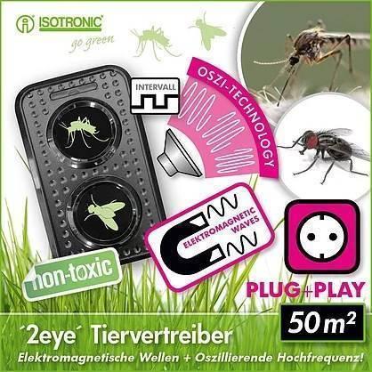 Отпугиватель мух ультразвуковой: как вывести насекомых без химии