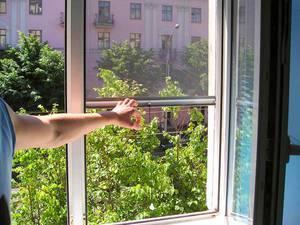 Антимоскитная сетка на магнитах на двери — лучшая защита от комаров!