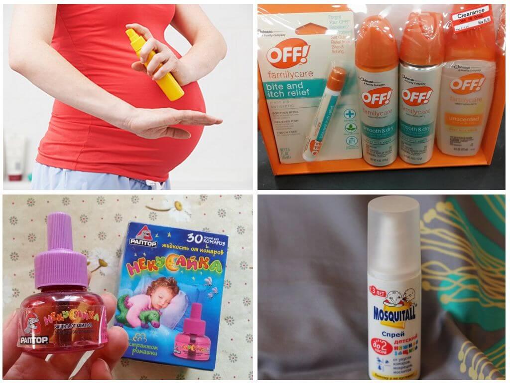 Комары: аптечка планирующей и беременной