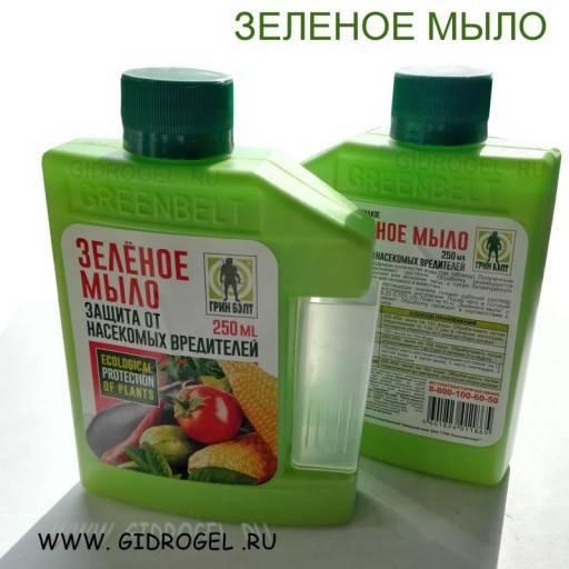 Применение мыльного раствора против тли