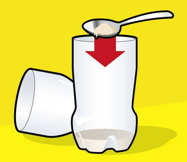 Как сделать ловушку для комаров из бутылки
