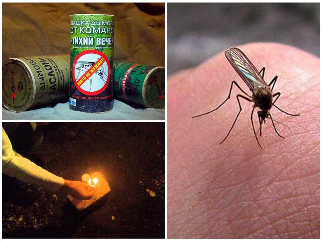 Инсектицидные дымовые шашки для уничтожения тараканов в квартире