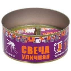 Помогают ли свечи от комаров на улице