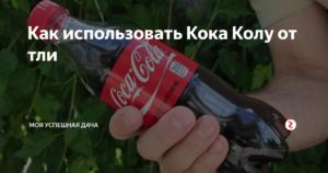 Кока-кола от тли