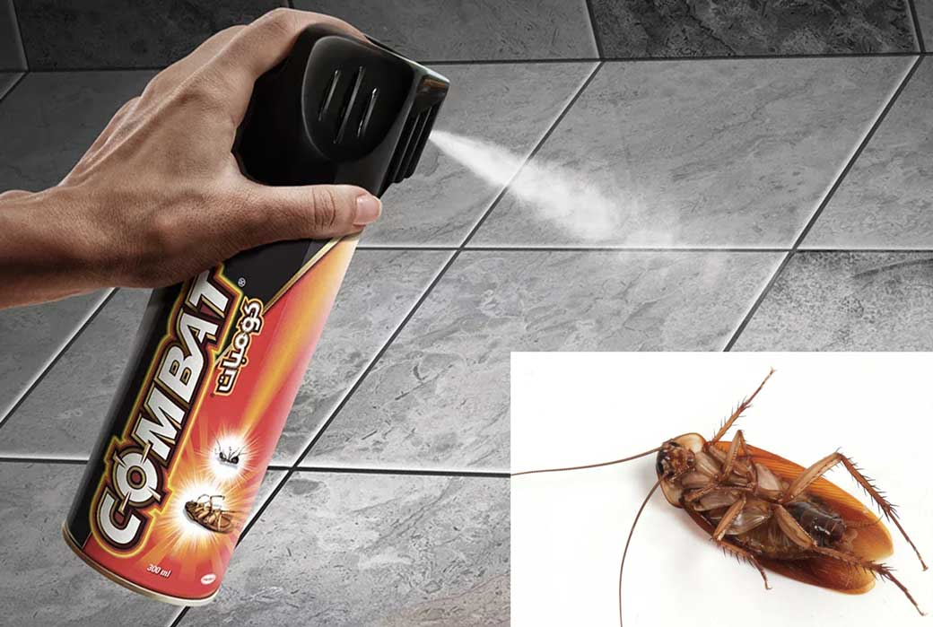 Комбат от тараканов: аэрозоли, ловушки, гели