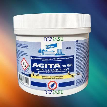 Агита – средство от мух: инструкция по применению, меры предосторожности и места обработки
