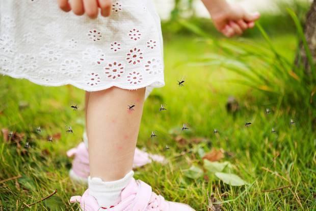 Средства защиты от комаров и мошек для детей