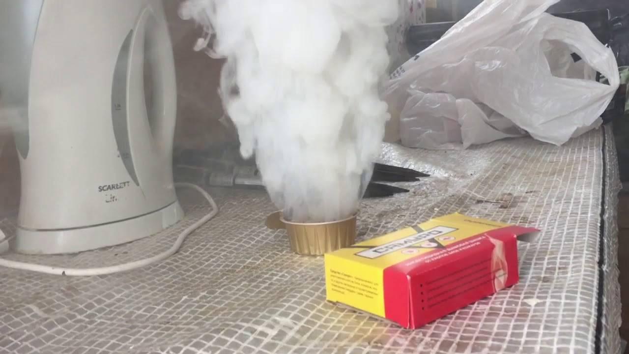 Что нужно знать о дымовых шашках от тараканов?