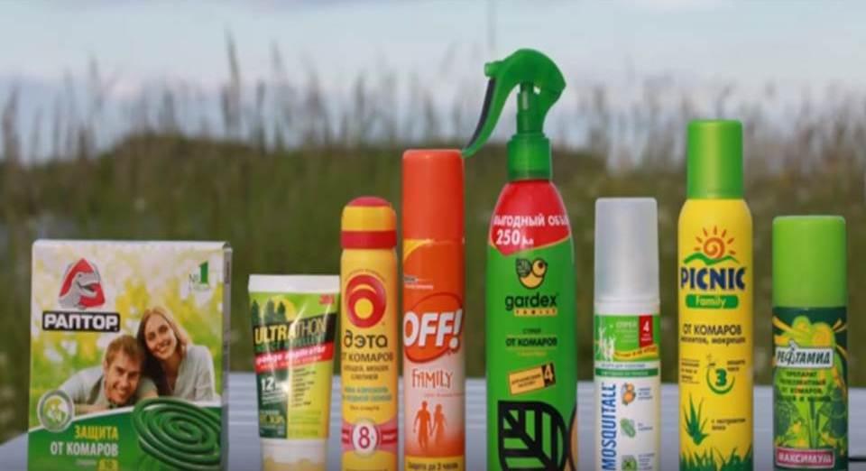 Спрей от комаров – как выбрать надежный препарат