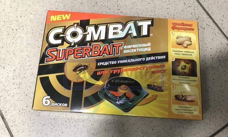 Средства Комбат от тараканов - отзывы и описание