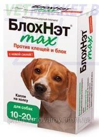 Инструкция по применению и отзывы на капли блохнэт для собак