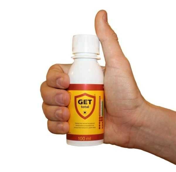 """гет"" - безопасное средство от клопов"