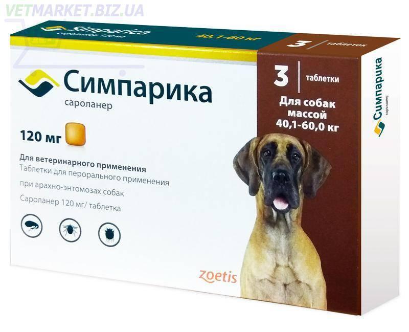 Препараты для собак от блох и клещей