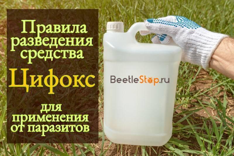 Цифокс от клопов и тараканов инструкция по применению