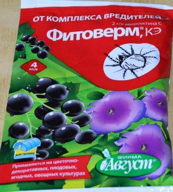 Фитоверм кэ инструкция по применению для комнатных растений. описание препаратафитоверм
