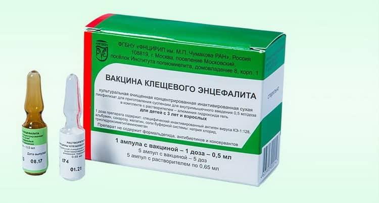 Противопоказания от прививки от клещевого энцефалита