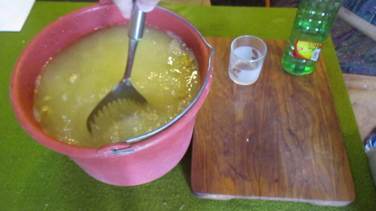 Обработка картофеля горчицей и уксусом