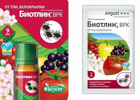 25 химических и биологических средств против тли
