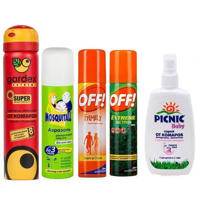 Средство от комаров для детей до года