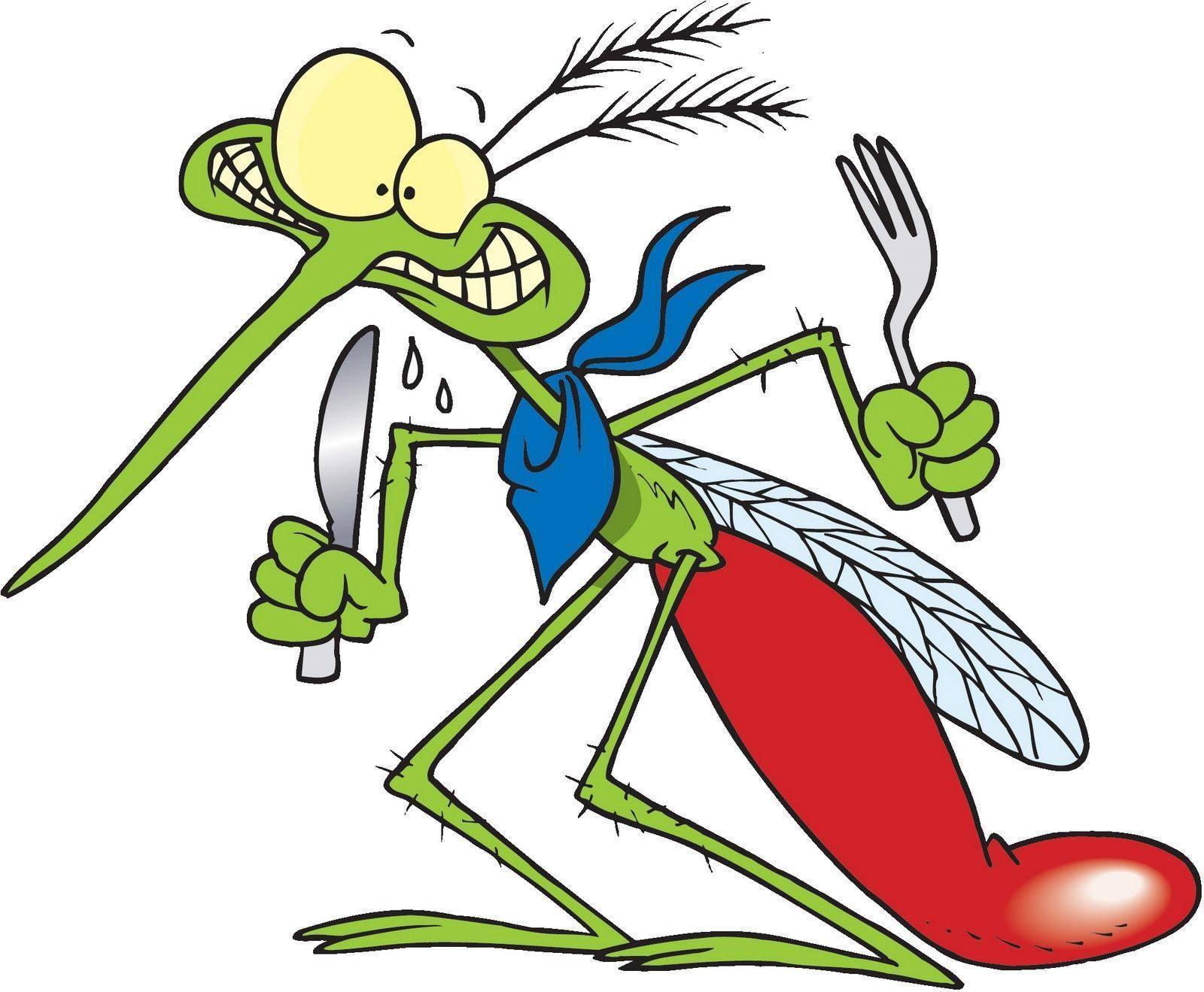 Как развести ванилин от комаров и мошек