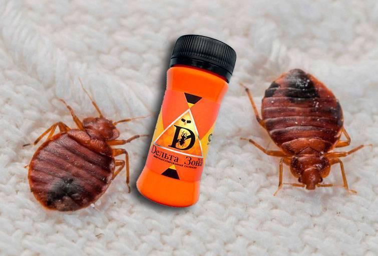 Средство дельта зона от клопов и тараканов