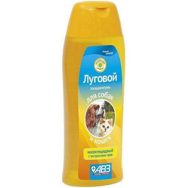 И помылись, и вылечились! шампунь от блох для собак взрослых и щенков