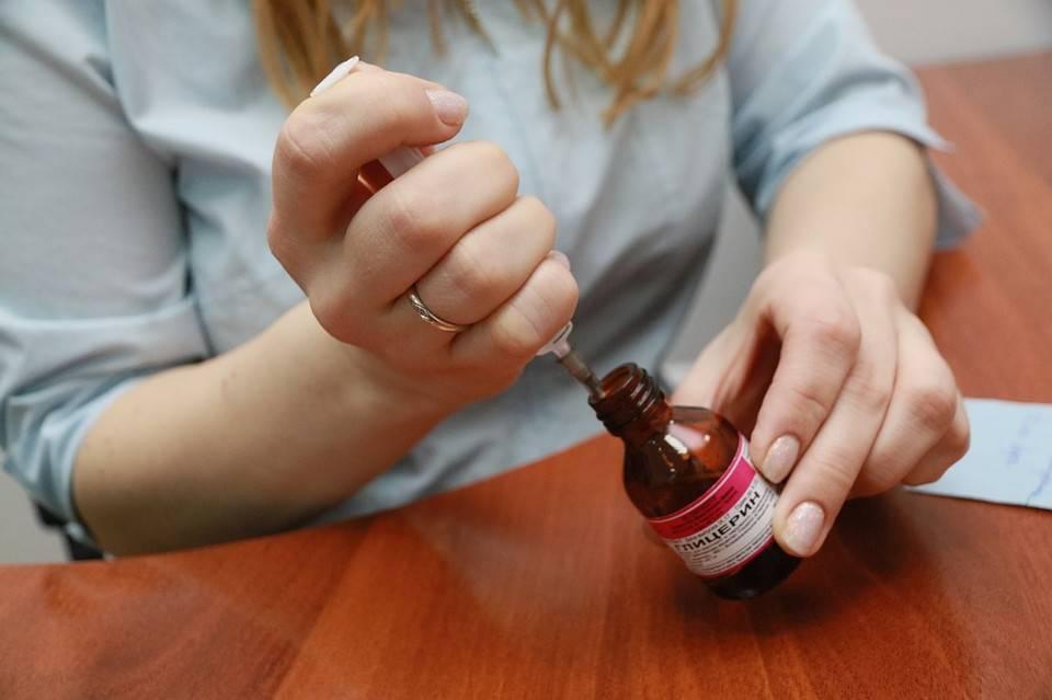 Кожный антисептик для обработки рук
