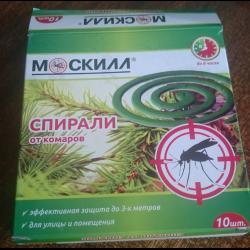 Как работает спираль от комаров
