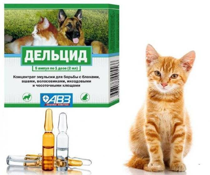 Серия средств барс от блох у кошек и собак